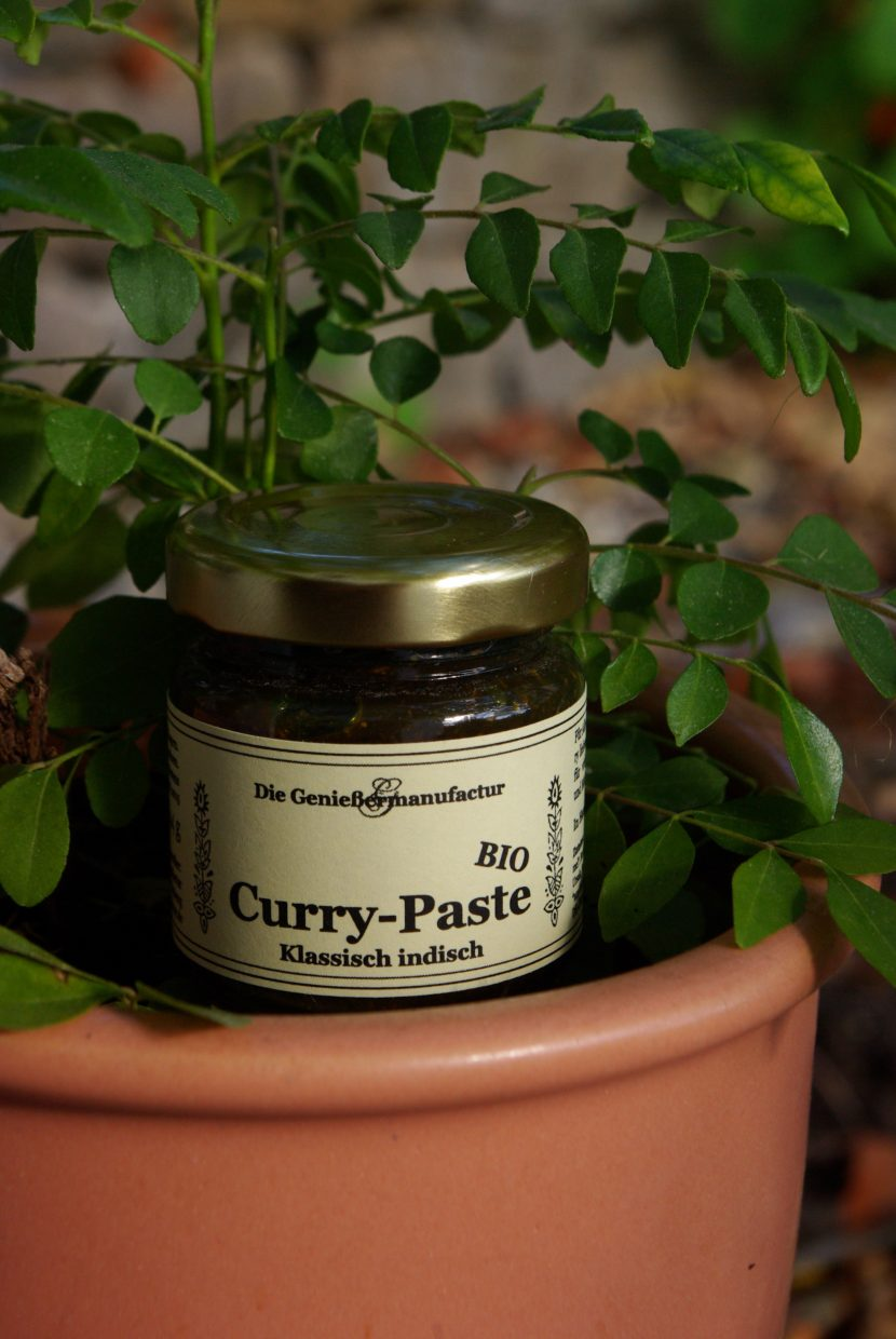 Curry, Currypaste indisch