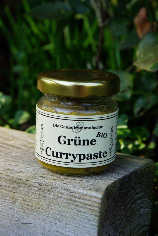 grüne Currypaste, Curry, Thaicurry