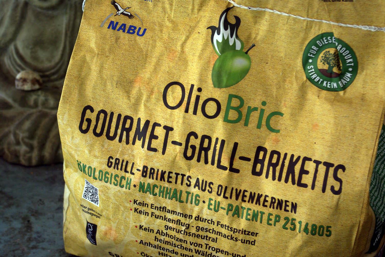 OlioBric Grillbriketts