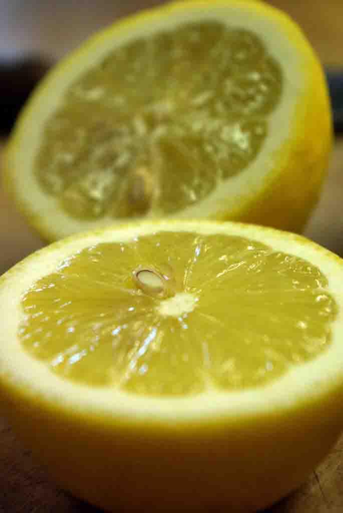 Bio Zitronen für Zitronenpesto, Zitronenwürzpesto, Pesto di Limone