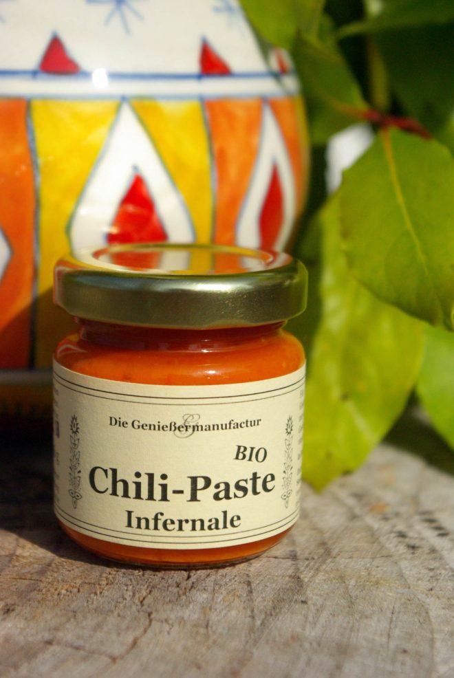 Chili, Chilipaste Infernale Bio