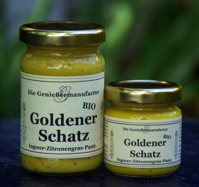 Zitronengras-Paste mit Ingwer Goldener Schatz