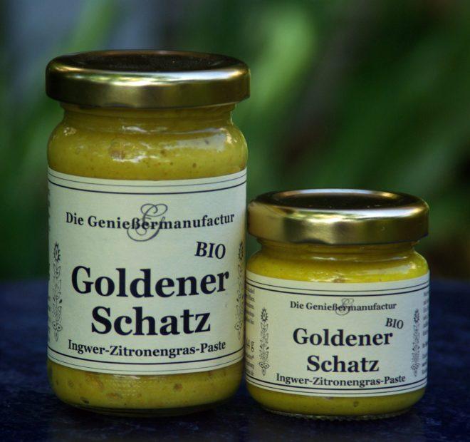 Zitronengras-Paste mit Ingwer Goldener Schatz Currypaste