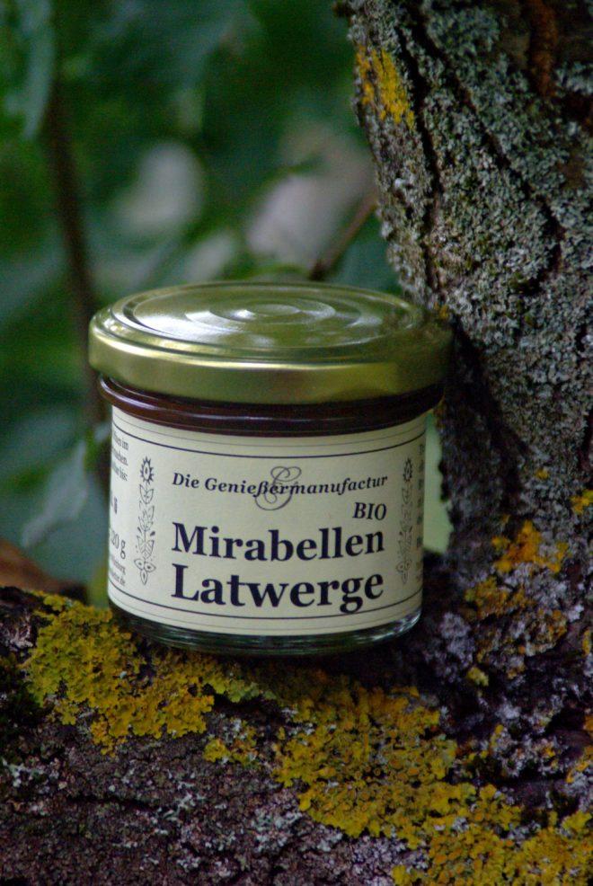 Latwerge Mirabellen bio