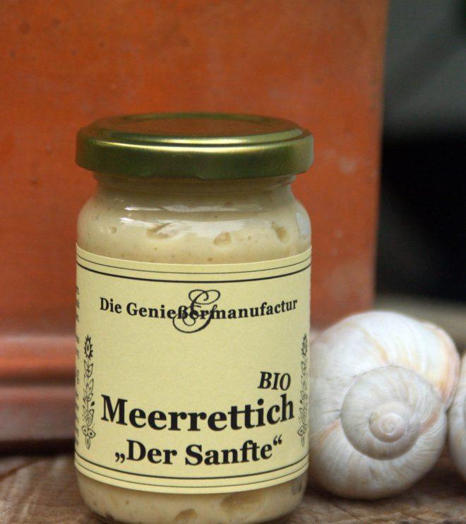 Meerrettichzubereitung - frischer meerrettich und Bechamel