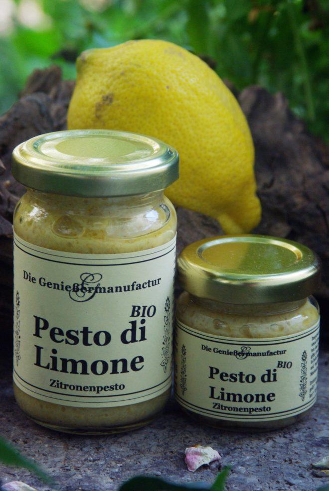 Pesto di Limone Zitronenpesto BIO