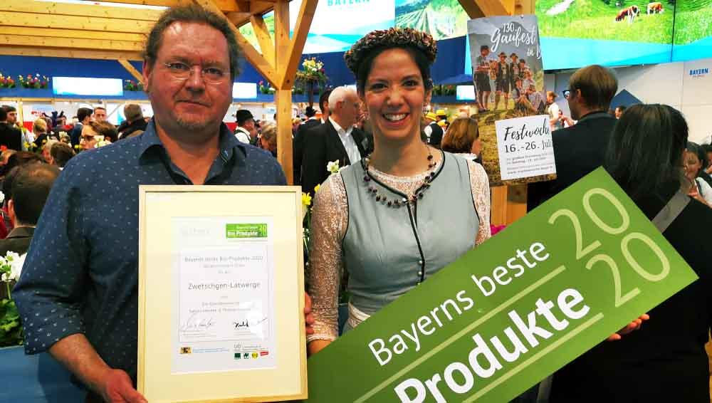 Zwetschgenlatwerge - Bayerns beste Bioprodukte 2020