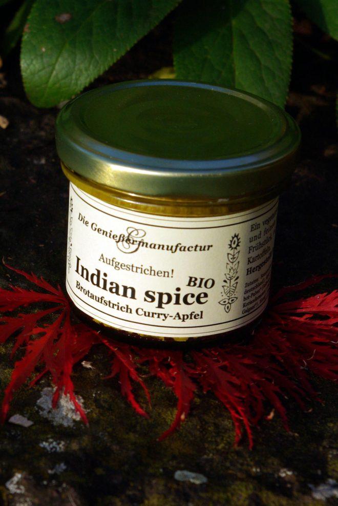 Brotaufstrich Indian Spice