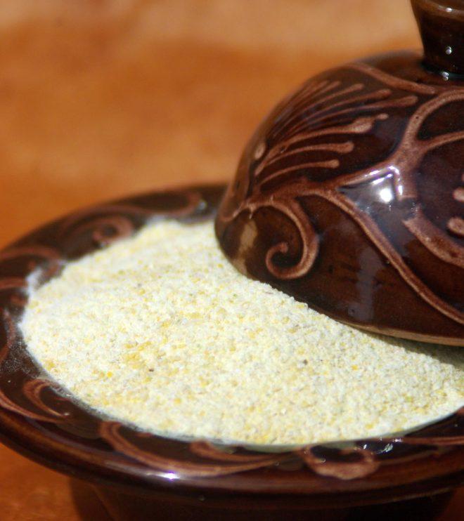 Mehl aus der Platterbse latyrus sativus