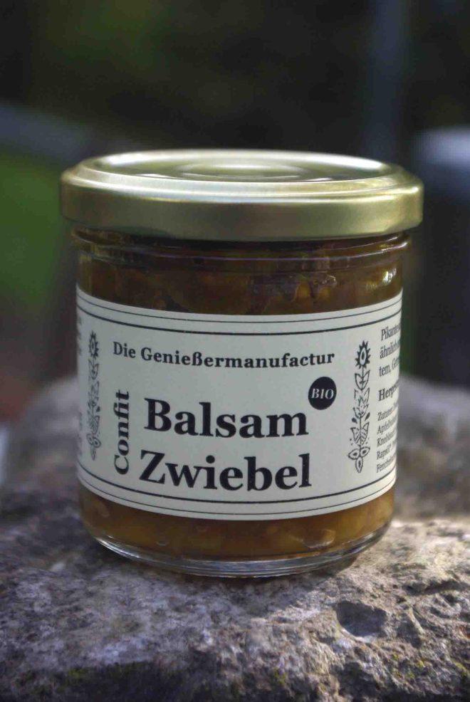 Balsamzwiebel-Confit