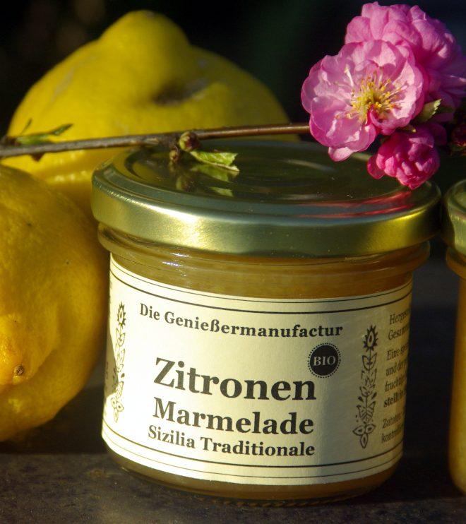 Zitronenmarmelade BIO