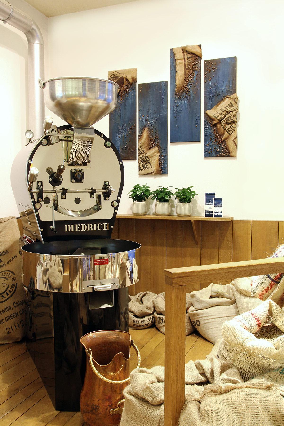 KaffeeManufaktur Würzburg Trommelröster