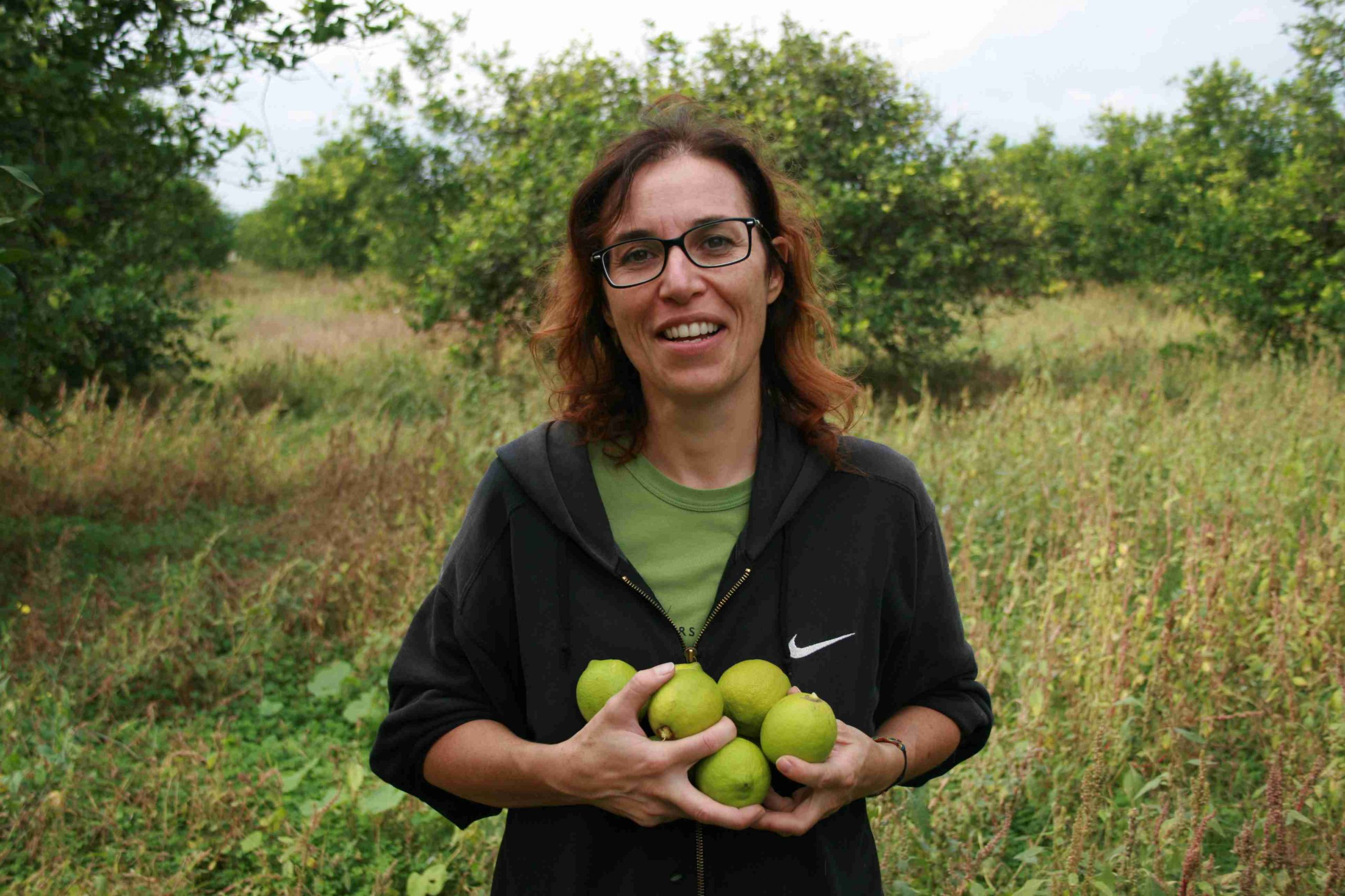 Die Anbauerin Monica Fiumara
