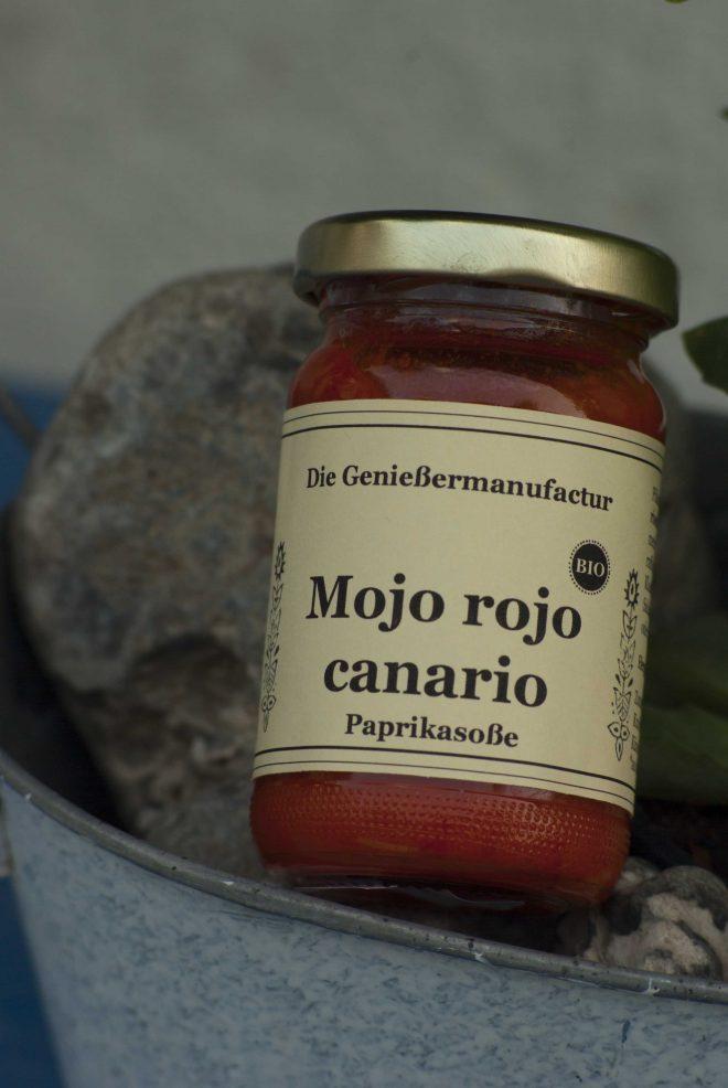Mojo rojo canario Paprikasoße