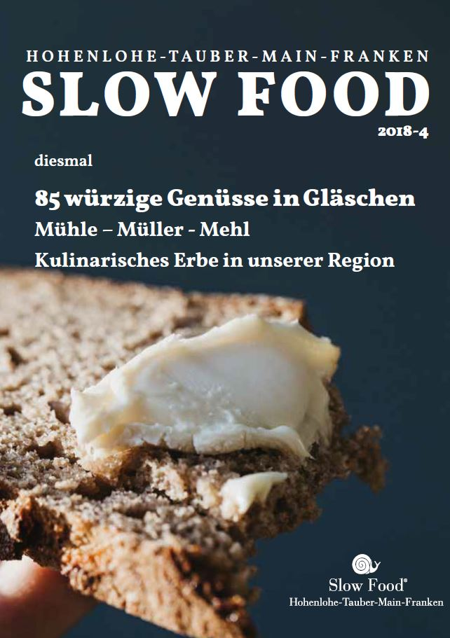 Geniessermanufactur Slow Food Convivium Zeitschrift