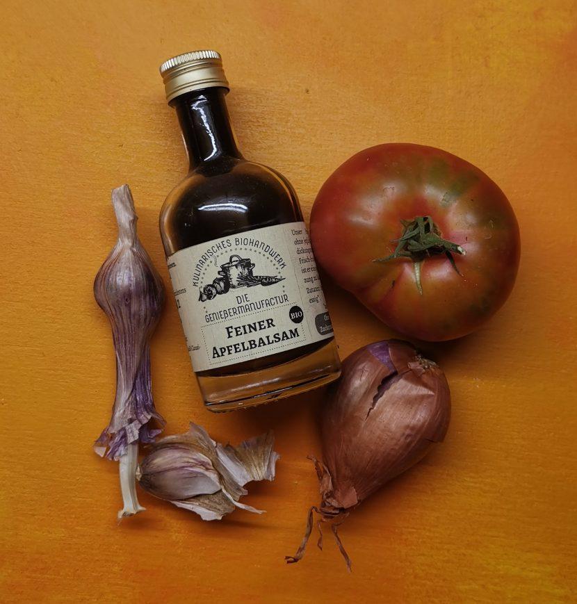 Englische Vinaigrette mit Apfel-Balsam aus der Geniessermanufactur