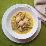 Rezept Dinkel-Haferklößchen mit Buchenpilz-Ragout